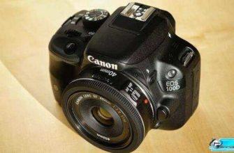 Фотоаппарат Canon-EOS-100D