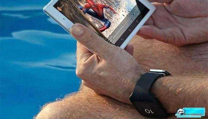 Mini Sony Table и Smartwatch 3