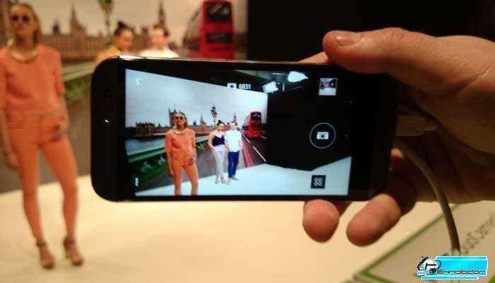 Съемка HTC One M8