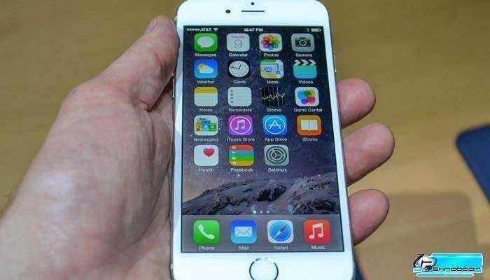 Retina HD экран на iPhone 6