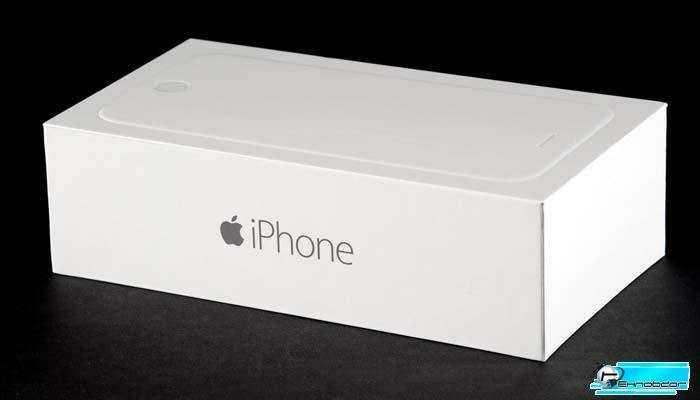 Из коробки iPhone 6