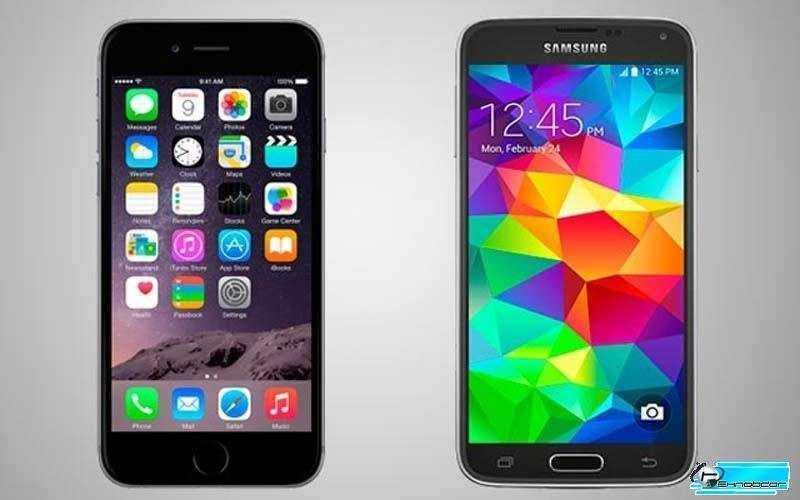 Сравнение Apple iPhone 6 vs Samsung Galaxy S5