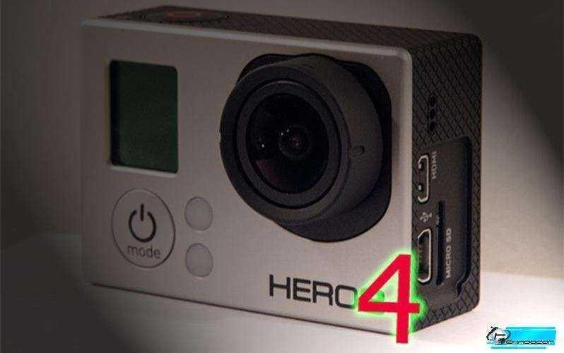 GoPro Hero4 - сенсорный экран и запись почти 4К видео