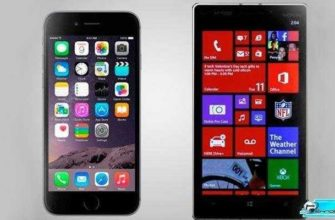 Сравнение iPhone 6 vs Nokia Lumia Icon