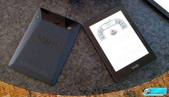 Amazon новый E-Reader Voyage и обновление Kindle