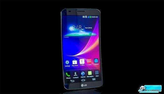 LG G Flex Обзор изогнутого смартфона