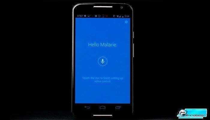 Голосовой помощник Motorola Moto X