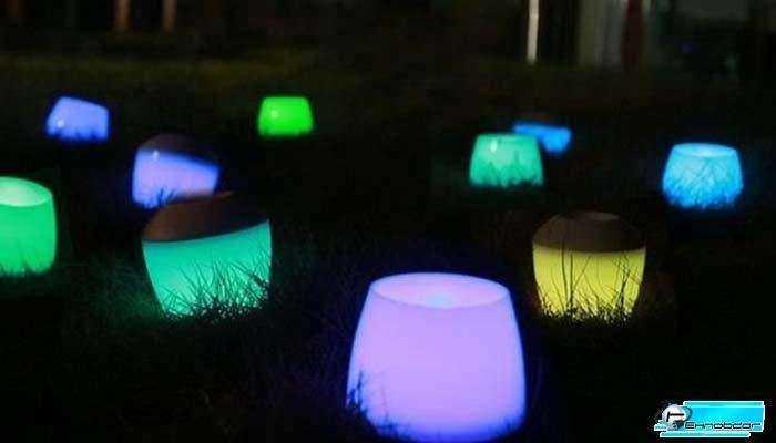 PLAYBULB - Беспламенные цветные светодиодные свечи