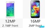 Samsung Galaxy Альфа vs Samsung Galaxy S5