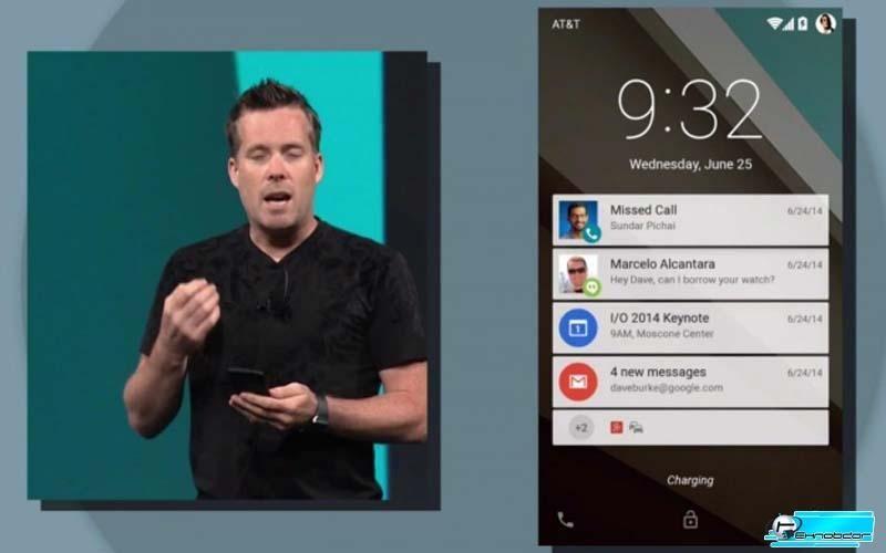 Расширенные уведомления Android 5.0 Lollipop