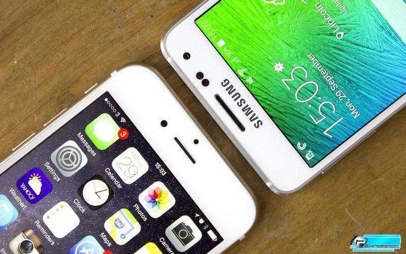 Samsung Galaxy Alpha vs Apple IPhone 6 – Сравнение монстров рынка