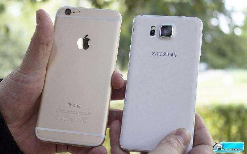 Samsung Galaxy Alpha vs Apple IPhone 6