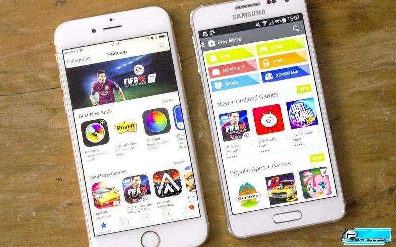 сравнение Samsung Galaxy Alpha и Apple IPhone 6