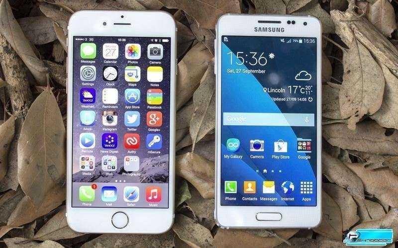 Samsung Galaxy Alpha vs Apple IPhone 6 – Сравнение
