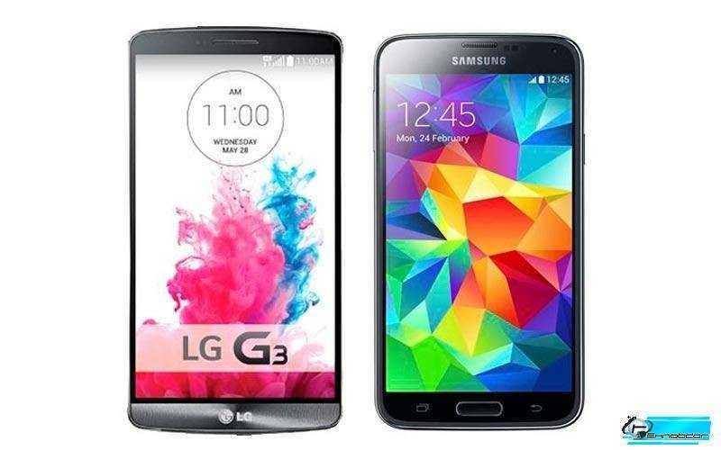 Битва Android супер смартфонов: Samsung Galaxy S5 vs LG G3 - Сравнение