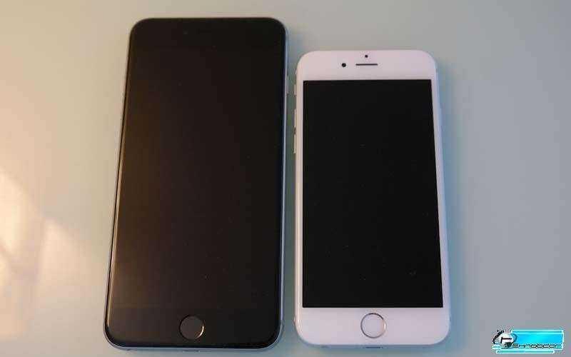 Размеры iPhone 6 Plus