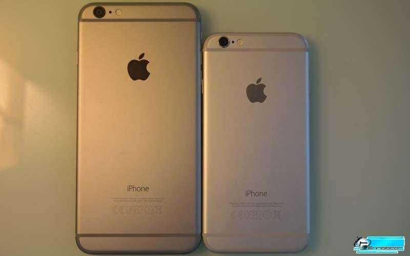 Размер iPhone 6 Plus