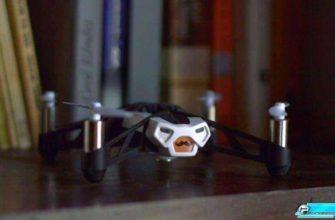 Parrot Rolling Spider, маленький дрон - Обзор