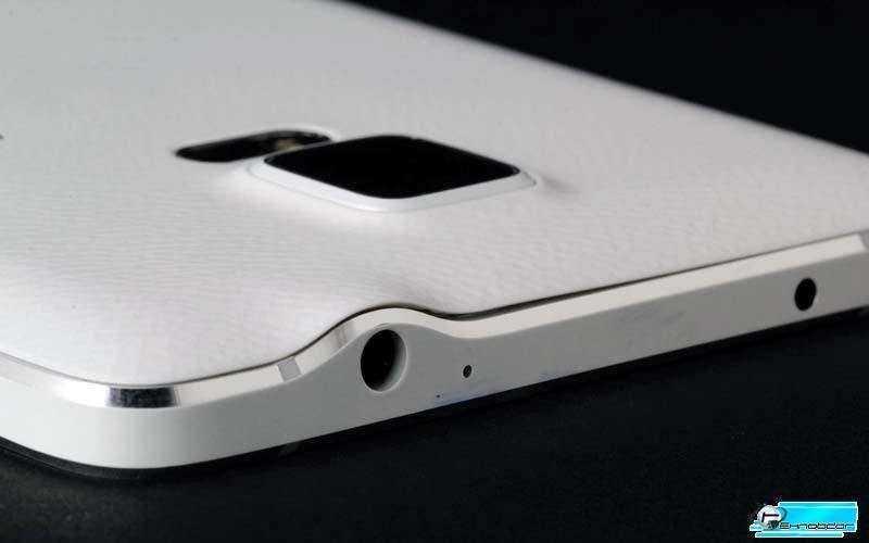Samsung Note 4 верх