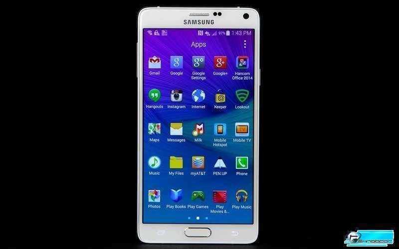 Приложения и интерфейс Samsung Galaxy Note 4