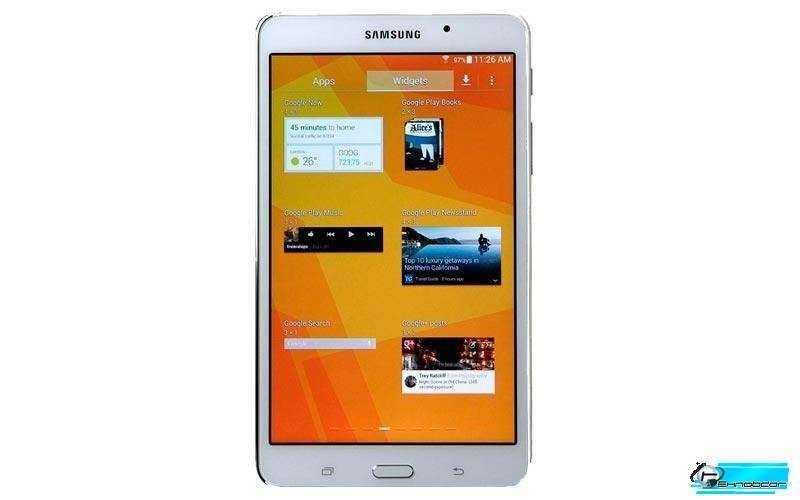 Samsung Galaxy Tab 4 Nook - экран