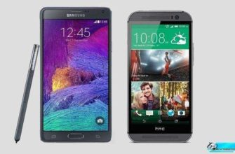 Samsung Galaxy Note 4 vs HTC One M8 – сравнение