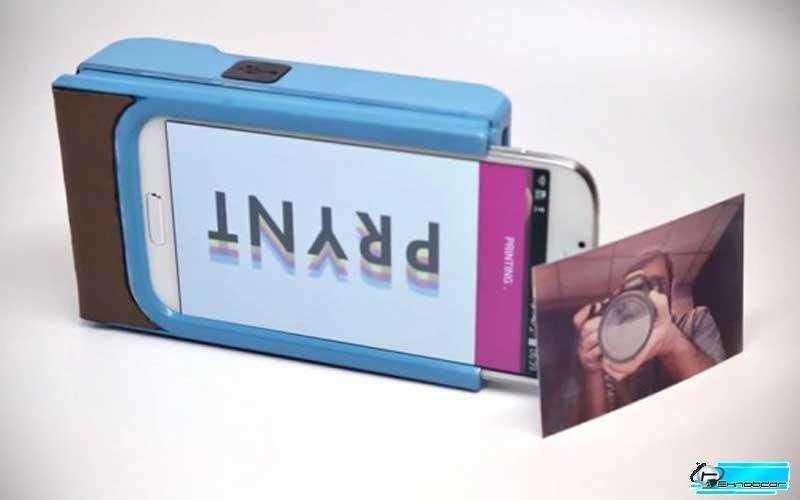 Новое устройство PRYNT превратит смартфон в фотопринтер