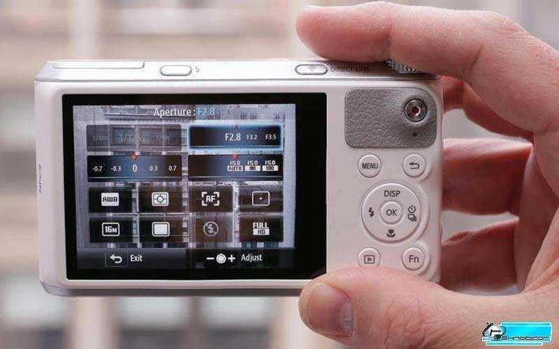 Samsung WB350F режимы