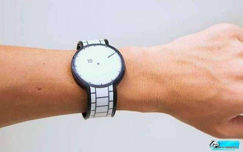 Новые E-INK умные часы от Sony - FES Watch