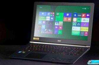 Acer Aspire V Nitro Black Edition – Обзор ноутбука