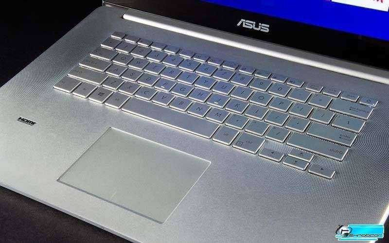 Клавиатура Asus Zenbook NX500