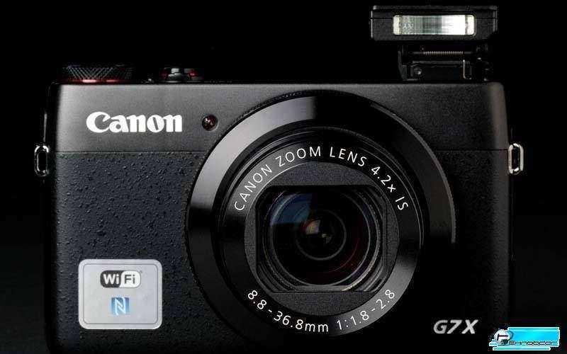 Дизайн Canon PowerShot G7 X