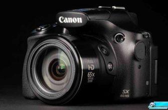 Обзор камеры Canon PowerShot SX60 HS