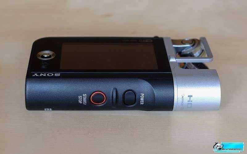 Использование Sony HDR-MV1