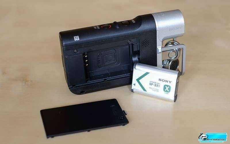 Sony HDR-MV1 - с батареей