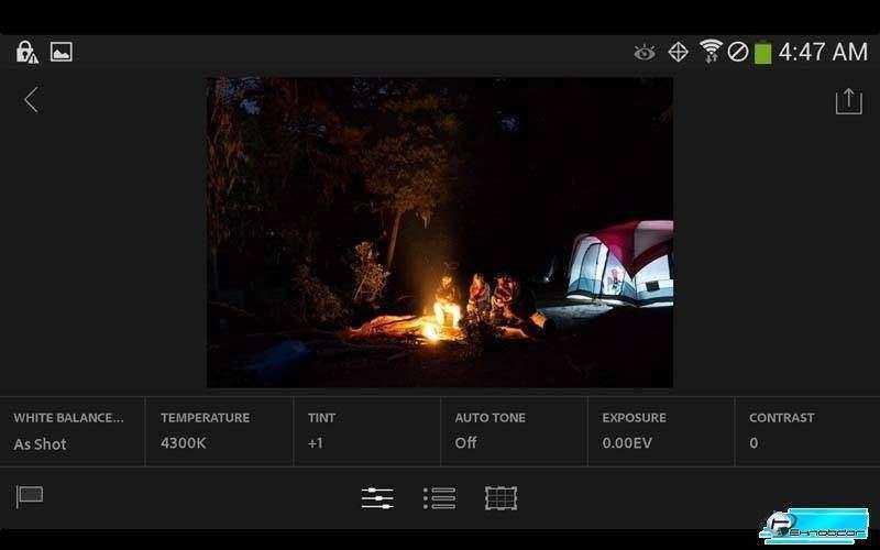 Новое приложение Adobe Lightroom Mobili