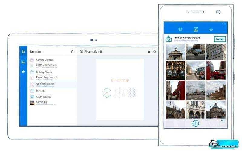 Dropbox пришел на Windows Phone