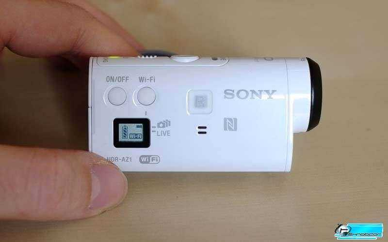 Экран Sony HDR-AZ1