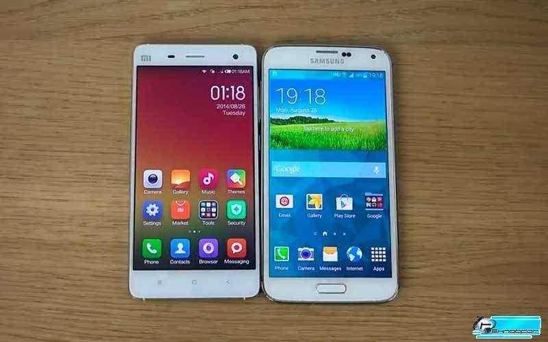 Сравнение Xiaomi Mi4 vs Samsung Galaxy S5