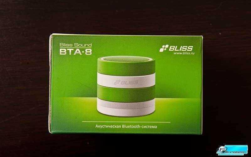 Bliss Sound BTA-8 упакована в добротную красивую коробку
