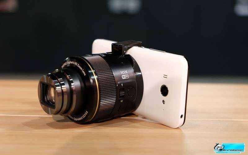 Смартфон и Kodak PIXPRO SL25