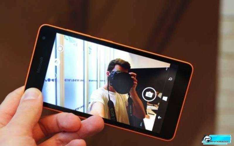 Камера Microsoft Lumia 535