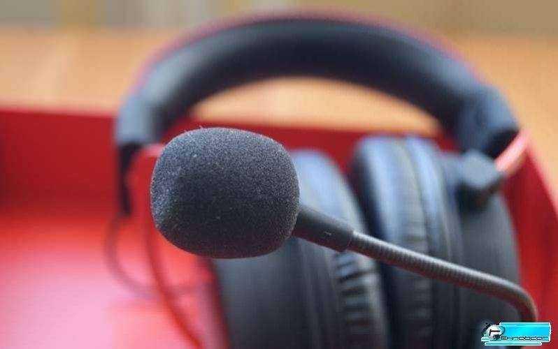 Kingston HyperX Cloud II микрофон