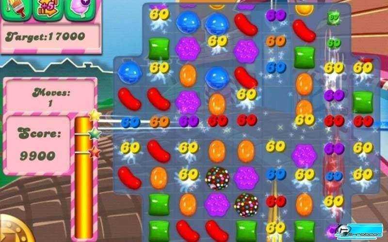 Игра Candy Crush Saga будет поставляться с Windows 10