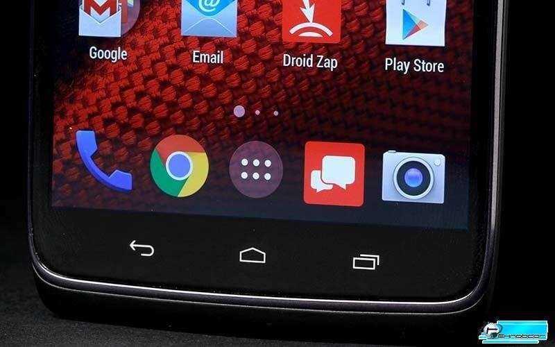 Motorola Droid Turbo экран