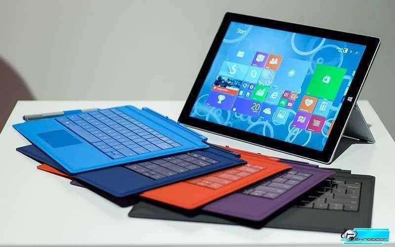 Microsoft Surface 3 клавиатуры