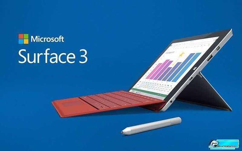 Microsoft Surface 3 планшет на windows