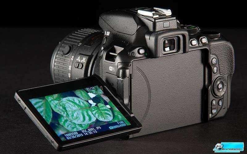 Nikon D5500 поворотный сенсорный дисплей