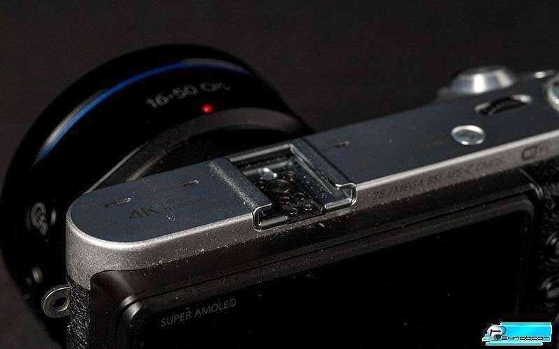 Samsung NX500 гнездо для вспышки