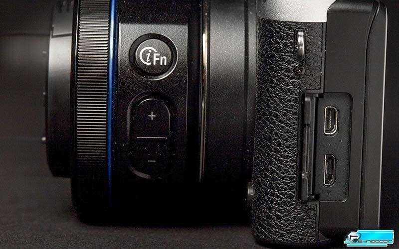 Камера Samsung NX500 с объективом